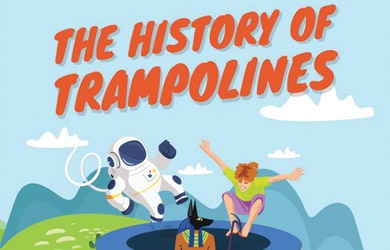 The Surprising and Exciting History of Trampolines