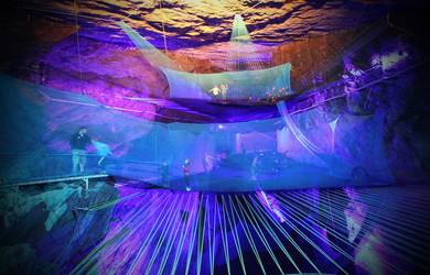 Bounce Below – The World's First Underground Trampoline