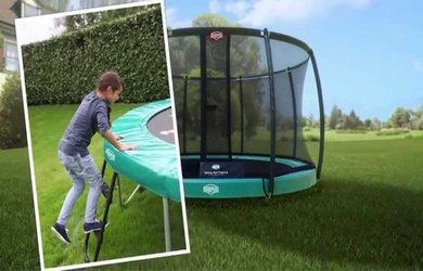 In Ground Trampoline Vs Above Ground Trampoline