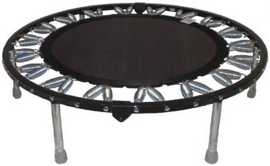 Needak Rebounder-R02 -Soft Bounce- Black Non-fold