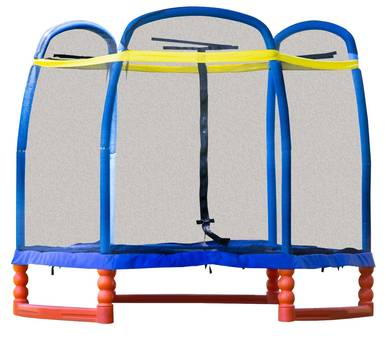 SkyBound Super 7 Trampoline