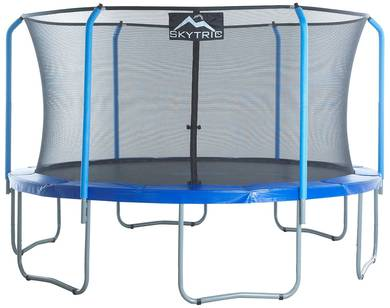 The Skytric Trampoline With Top Ring Enclosure System