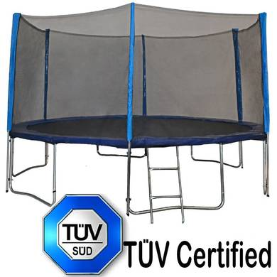 TUV Approved Zupapa Trampoline Combination Review