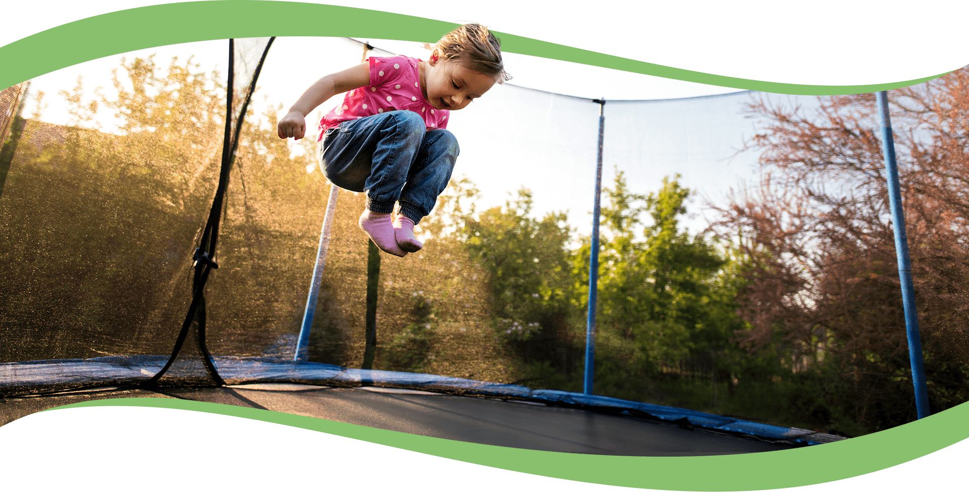 Image result for A Kids Trampoline
